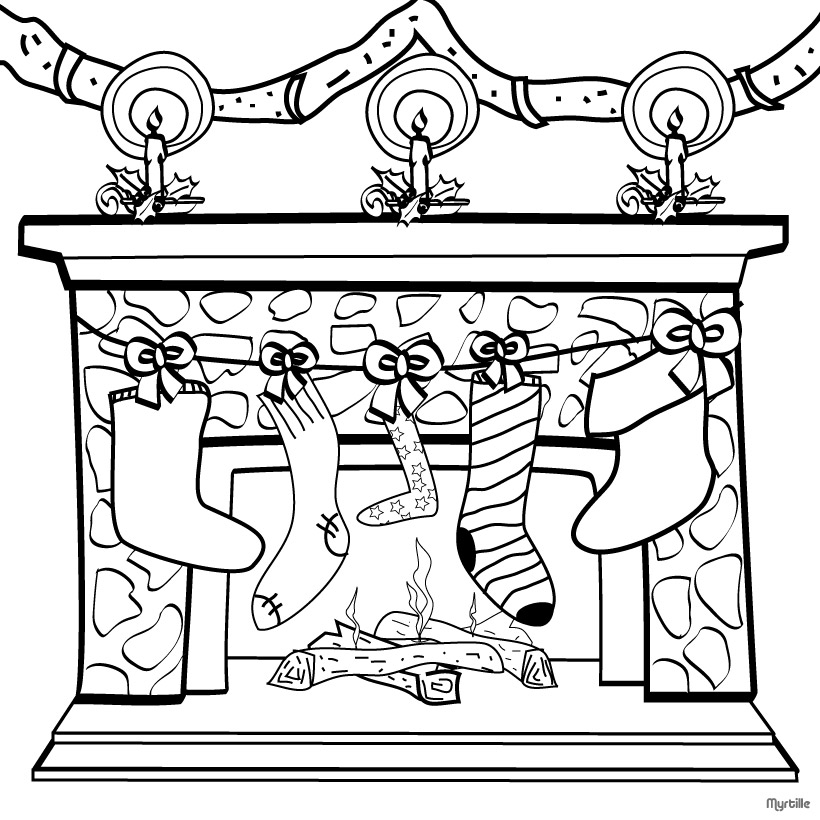 download christmas coloring pages 16 print - Christmas Print Coloring Pages