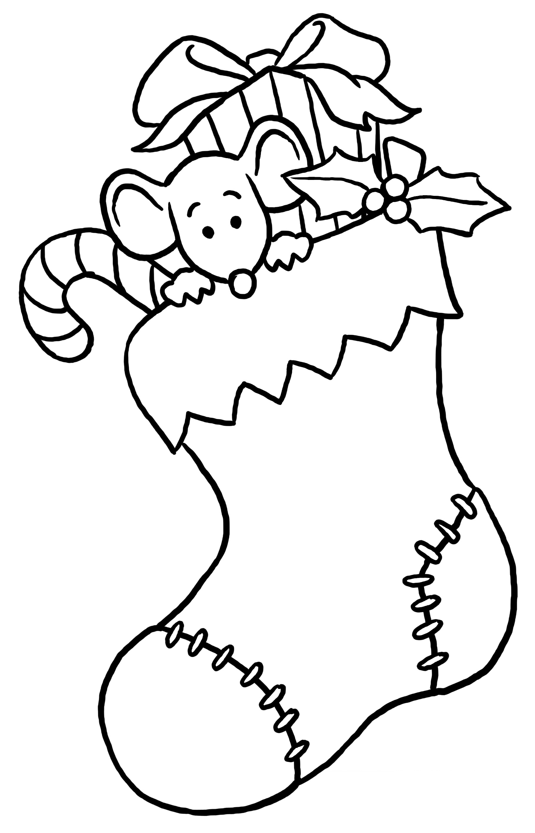 Christmas Coloring Pages (3) - Coloring Kids