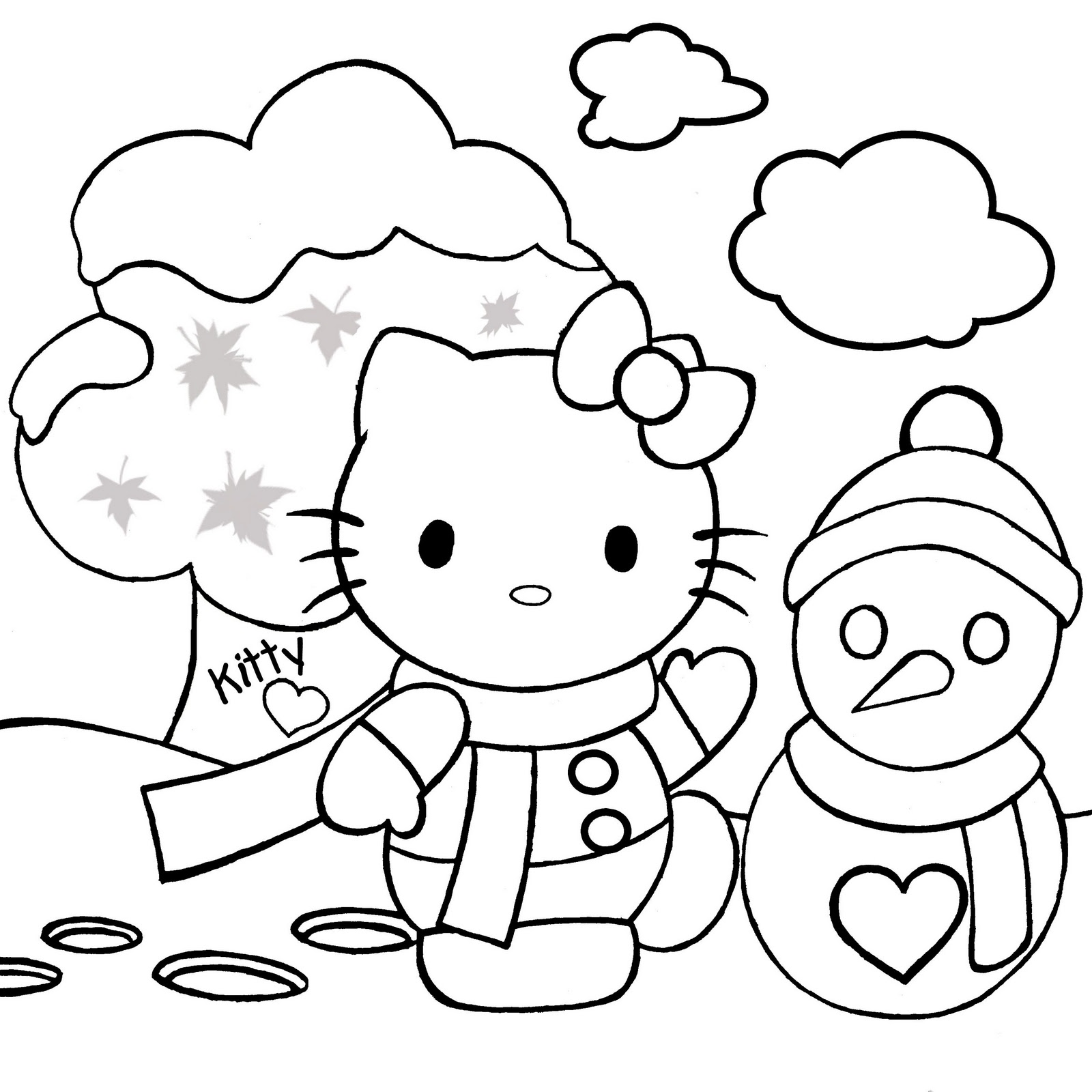 Download Christmas Coloring Pages 7 Print