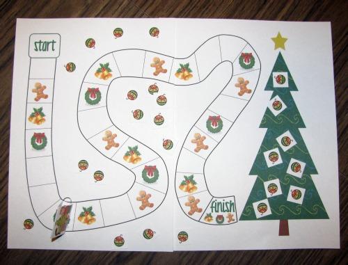 Christmas Printable Games 1