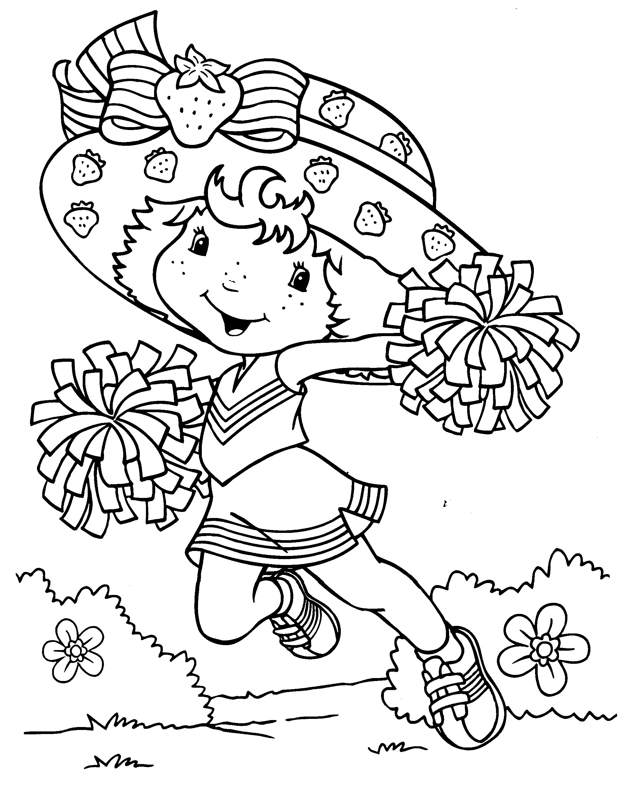 Coloring Pages For Girls (10) - Coloring Kids