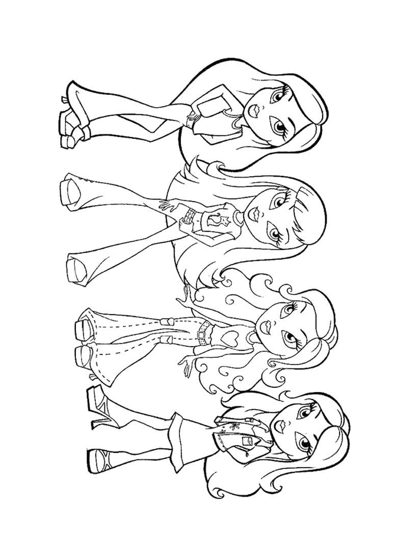 coloring pages for girls 12 coloring kids