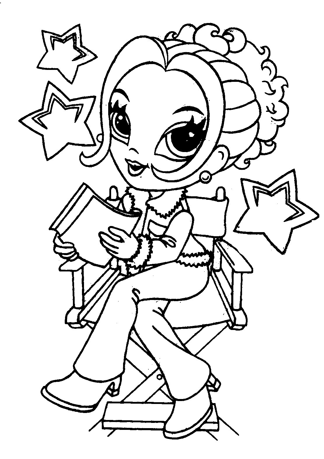 coloring pages for girls (6) - coloring kids - Childrens Coloring Pages Girls