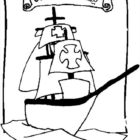 Columbus Day Coloring Pages (1)