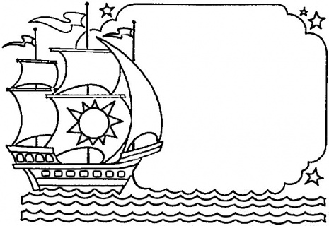 Columbus Day Coloring Pages (13) | Coloring Kids