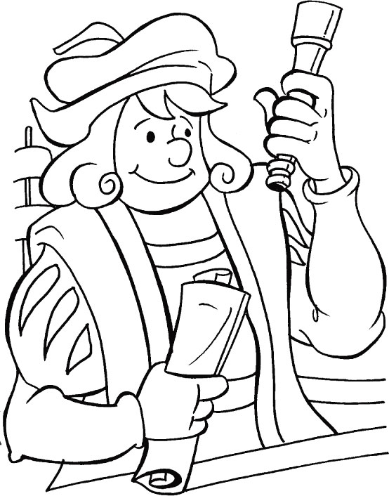 columbus day coloring pages 3 coloring kids
