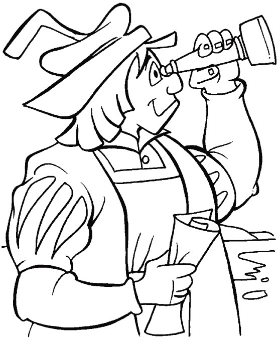 Columbus Coloring Page Cartoon Coloring Pages Columbus Coloring Pages