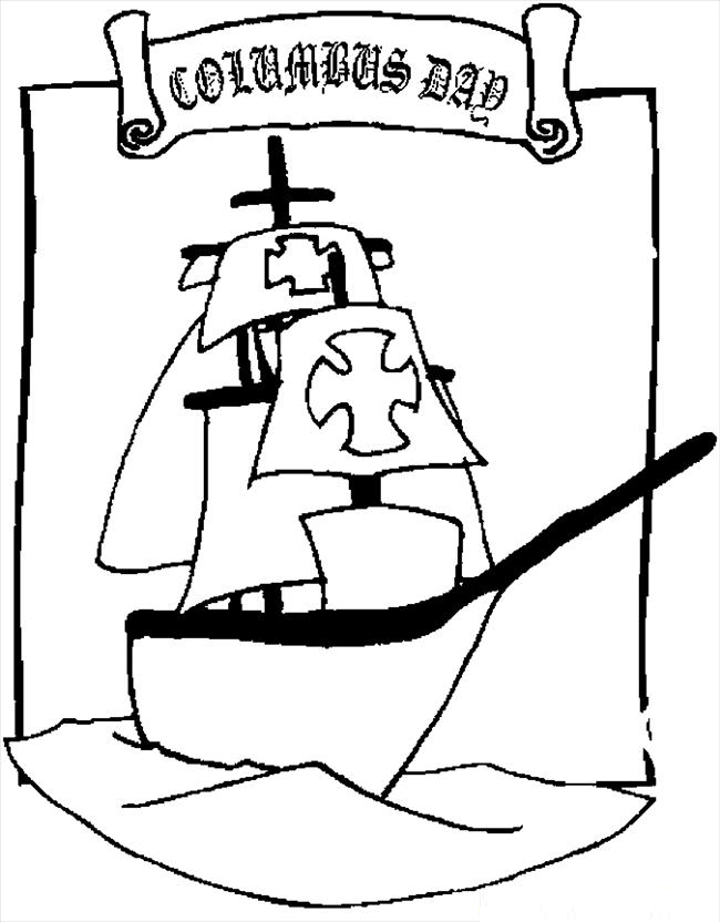columbus day coloring pages 6 coloring kids