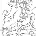 Cowboy Coloring Pages (4)