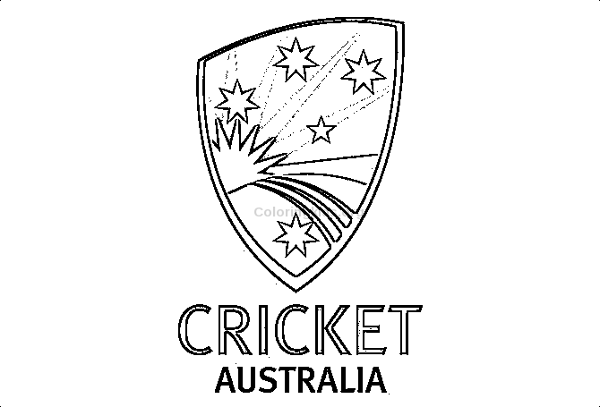 cricket-australia-logo.png1 - Coloring Kids