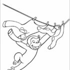 Curiose George Coloring Pages (1)