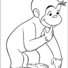 Curiose George Coloring Pages (18)