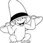 Curiose George Coloring Pages (9)