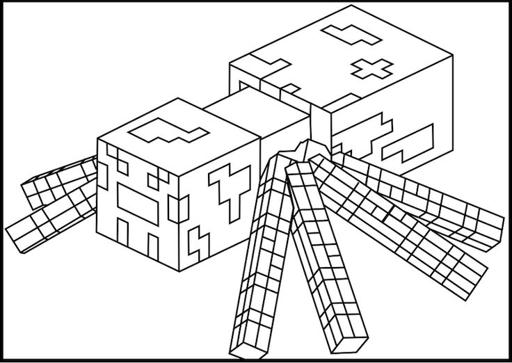 Minecraft Coloring Kids Printable Minecraft Coloring Pages