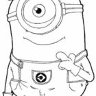 despicable me coloring pages 10 140x140 Despicable Me Coloring Pages