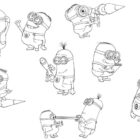 despicable me coloring pages 3 140x140 Despicable Me Coloring Pages