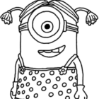 despicable me coloring pages 4 140x140 Despicable Me Coloring Pages