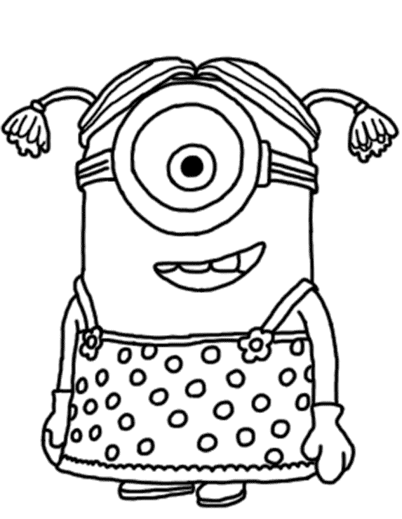Despicable Me Coloring Pages 4 Coloring Kids Despicable Me Coloring Pages To Print