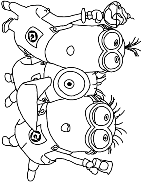 Despicable Me Coloring Pages 5 Coloring Kids