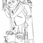 despicable me coloring pages 6 140x140 Despicable Me Coloring Pages