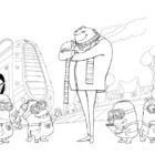despicable me coloring pages 7 140x140 Despicable Me Coloring Pages