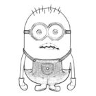 despicable me coloring pages 8 140x140 Despicable Me Coloring Pages
