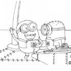 despicable me coloring pages 9 140x140 Despicable Me Coloring Pages
