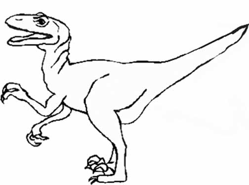 Dinosaur Coloring Pages (1)