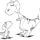 dinosaur coloring pages 10 140x140 Dinosaur Coloring Pages