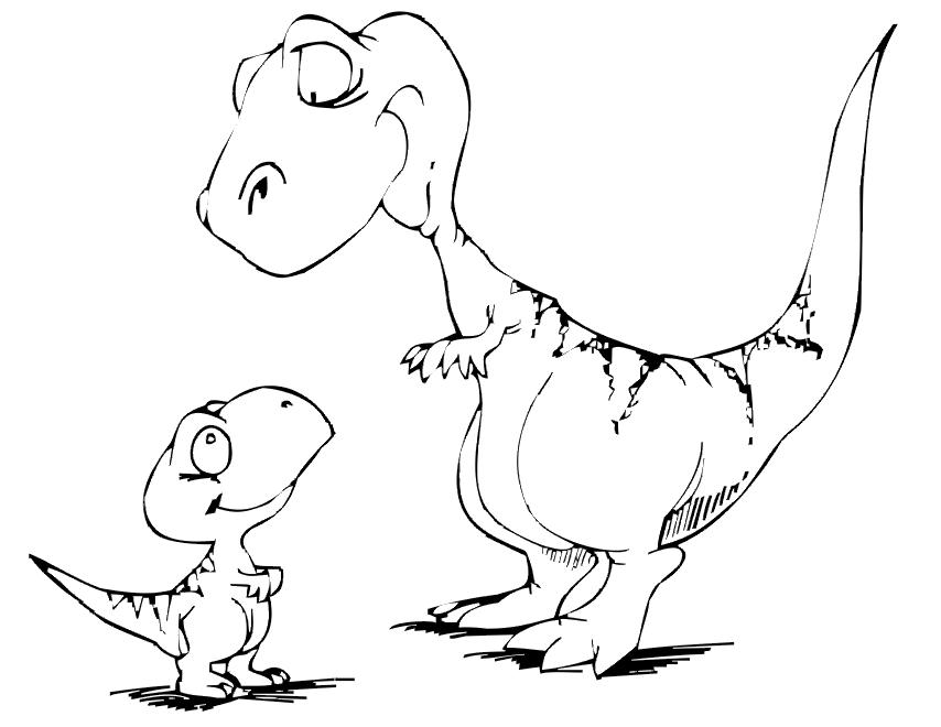 Dinosaur Coloring Pages 10 Coloring Kids