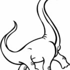 dinosaur coloring pages 12 140x140 Dinosaur Coloring Pages