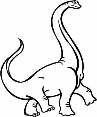 Simple Dinosaur Coloring Pages Dinosaur Coloring Pages 12  Coloring Kids