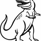dinosaur coloring pages 2 140x140 Dinosaur Coloring Pages
