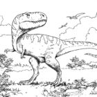 dinosaur coloring pages 5 140x140 Dinosaur Coloring Pages
