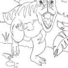 dinosaur coloring pages 6 140x140 Dinosaur Coloring Pages