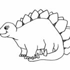 dinosaur coloring pages 7 140x140 Dinosaur Coloring Pages