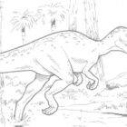 dinosaur coloring pages 9 140x140 Dinosaur Coloring Pages