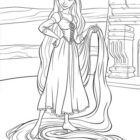 dis tangled colorsheets qxplayout 1 140x140 Rapunzel Coloring Pages