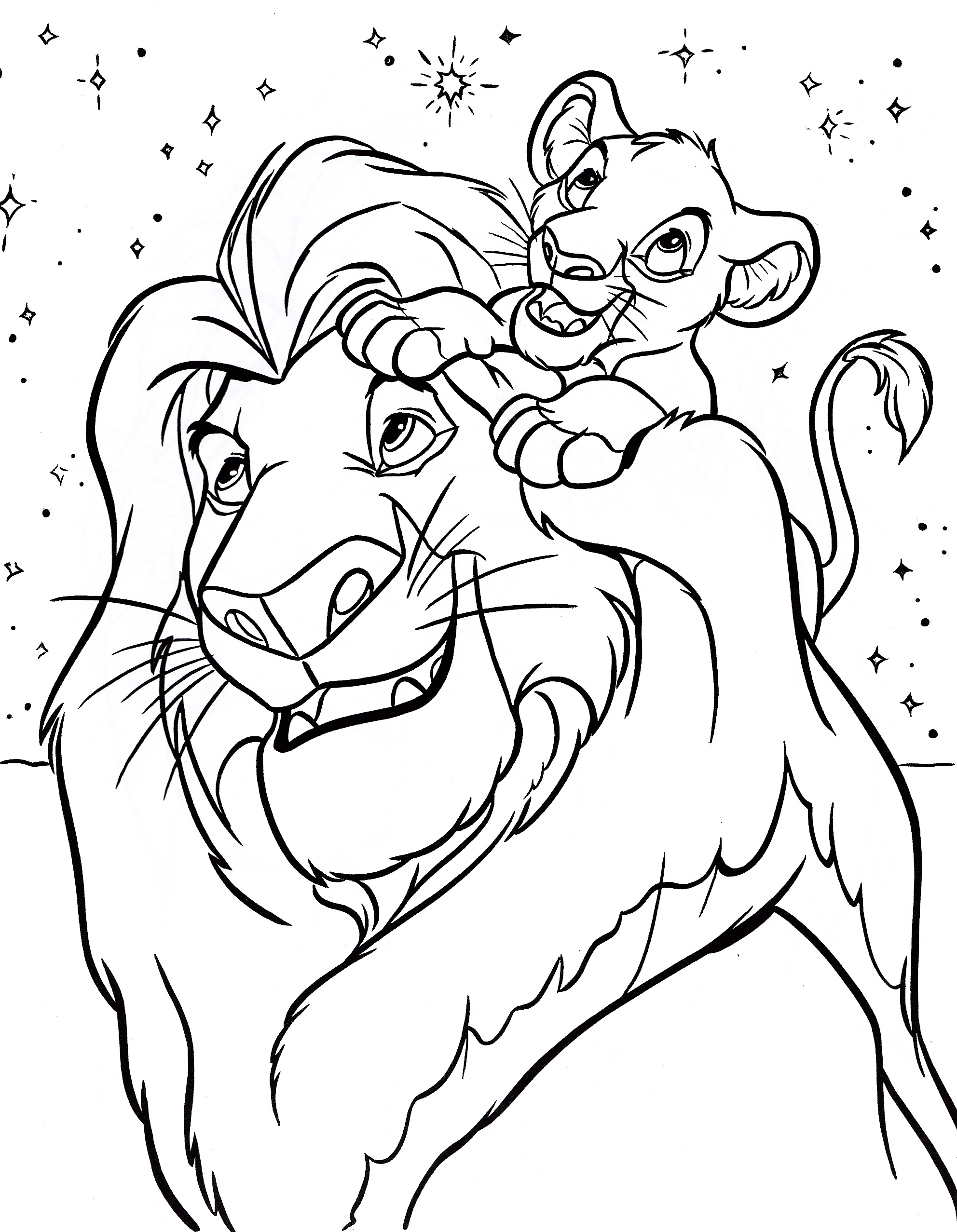 Disney Coloring Pages A4 Coloring Pages