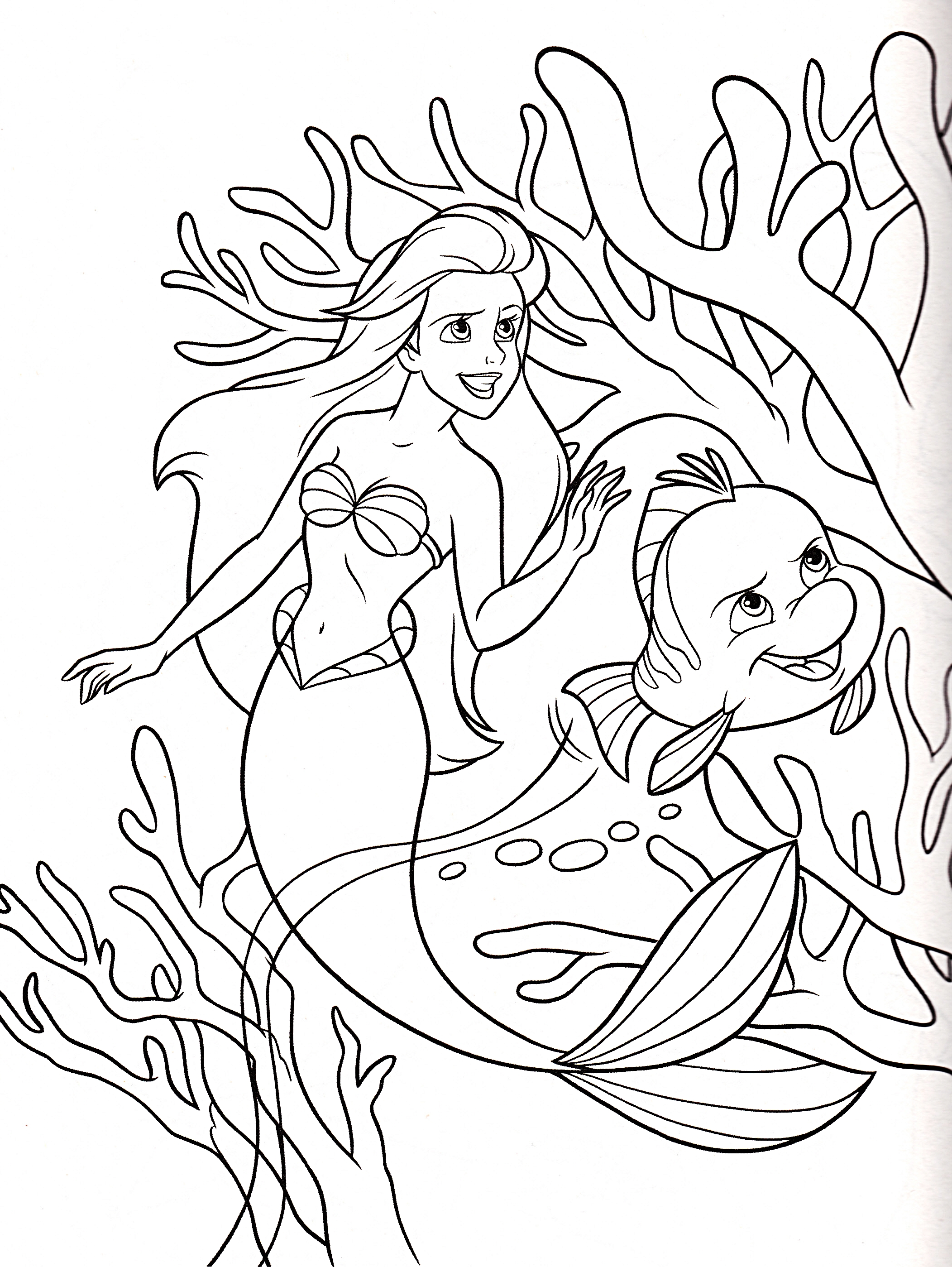 disney coloring pages for girls