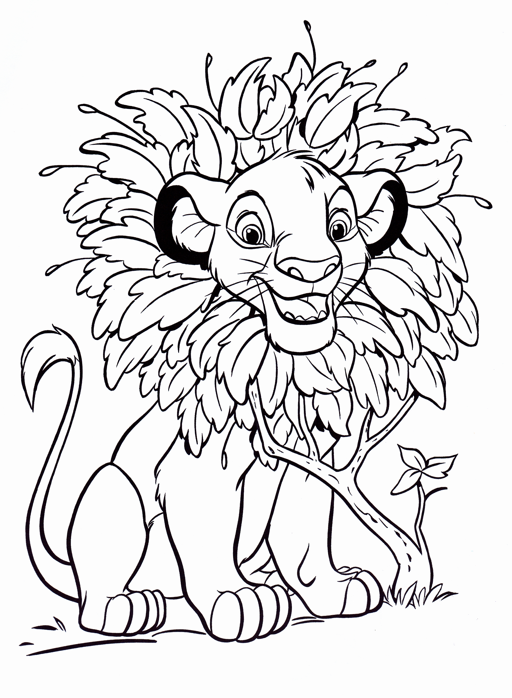 childrens coloring pages of disney - photo#10