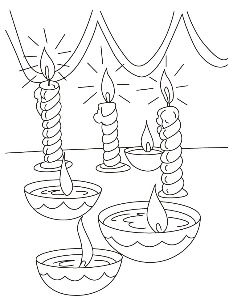 Diwali Coloring Pages 16 Coloring Kids