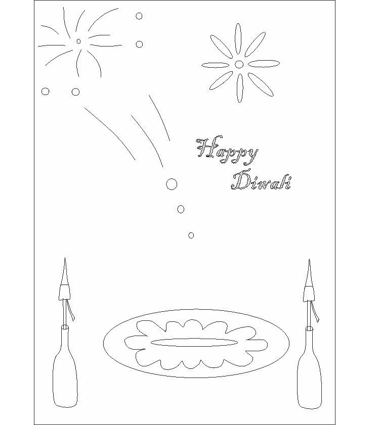 Diwali Coloring Pages 9 Coloring Kids