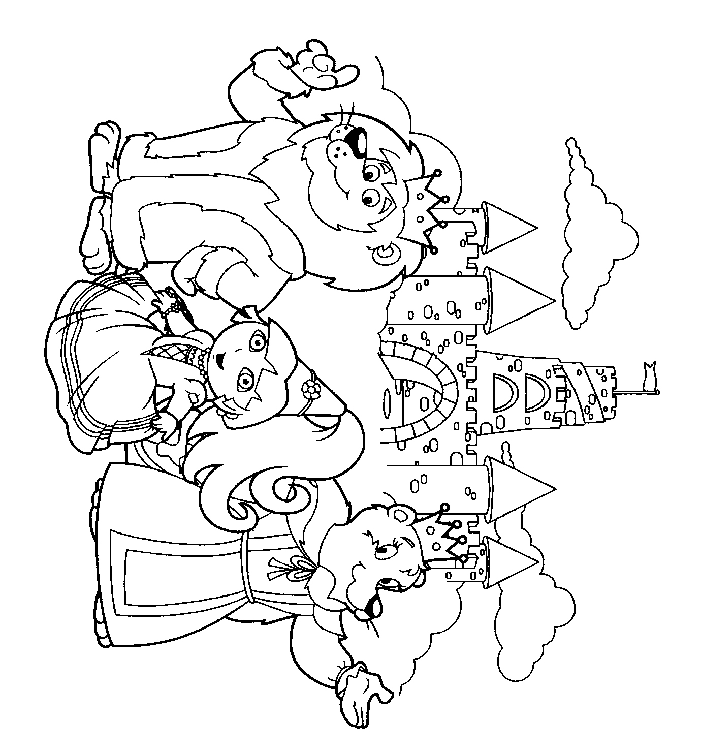 Download Dora The Explorer Coloring Pages 17 Print