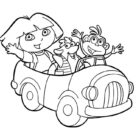 dora the explorer coloring pages 26 140x140 Dora the Explorer Coloring Pages