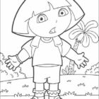 dora the explorer coloring pages 4 140x140 Dora the Explorer Coloring Pages
