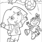 dora the explorer coloring pages 7 140x140 Dora the Explorer Coloring Pages