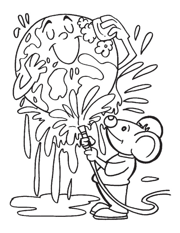 Earth Day Coloring Pages 1 Coloring Kids