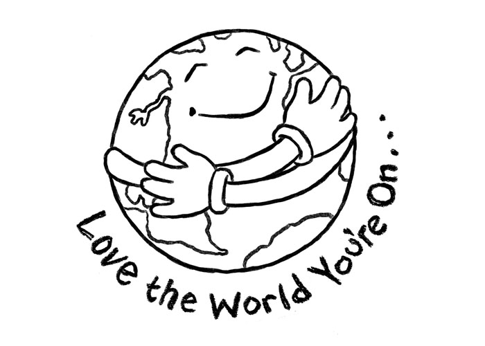 coloring pages for earth day - photo#12