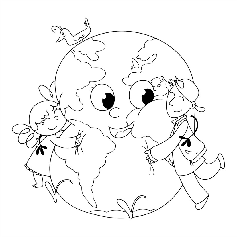 Download Earth Day Coloring Pages 9